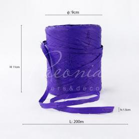 Стрічка рафія фіолетова 200м