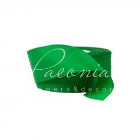 Стрічка репсова 4см*23м зелений
