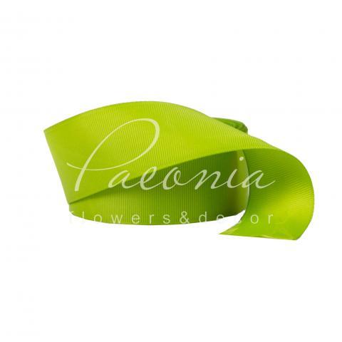 Лента репсовая оливковая 4см*23м