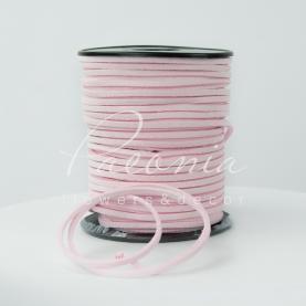 Лентафлористическаязамшевая тонкаясветло-розовая3мм*46м