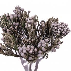Брунія Silver 35см (ціна за 1 гілку)