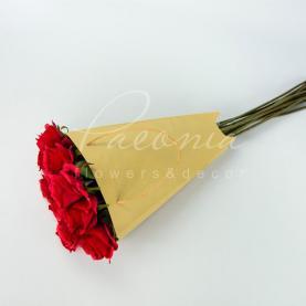 Пакет Флористичний для букета 35см*24см*8см Тюльпан крафт з ручками