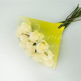 Пакет Флористичний для букета 35см*35см Angelo Usual жовтий