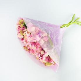 Пакет Флористичний для букета 35см*35см Ажело з ефектом градієнт лаванда