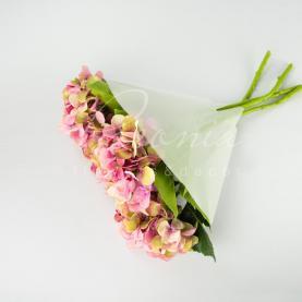Пакет Флористичний для букета 35см*35см напівпрозорий білий