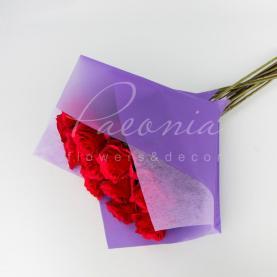 Пакет Флористичний для букета 35см*35см з Флізеліном фіолетовий