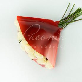 Пакет Флористичний для букета 40см*40см Анжело мистік червоний