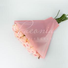 Пакет Флористичний для букета 50см*52см*14см крафтлайн реarl рожевий