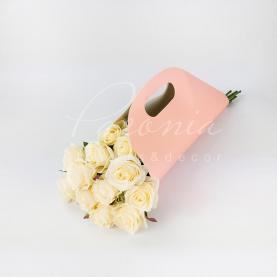 Пакети картонні h 52см під руку рожевий
