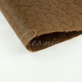 Пенопрен флористический водостойкий листовой кубики коричневый 60см*53см