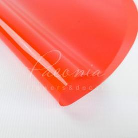 Плівка Флористична для упаковки горшкових рослин d44см червоний