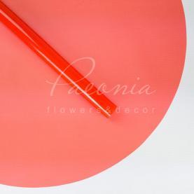 Пленка флористическая для упаковки горшечных растений d65см красный