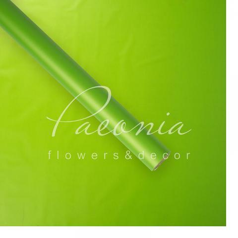 Пленка флористическая матовая 70см*10м салатовый