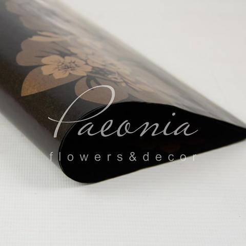 Папір водостійкий з візерунком квіти ассортимент 60см*60см 1 лист