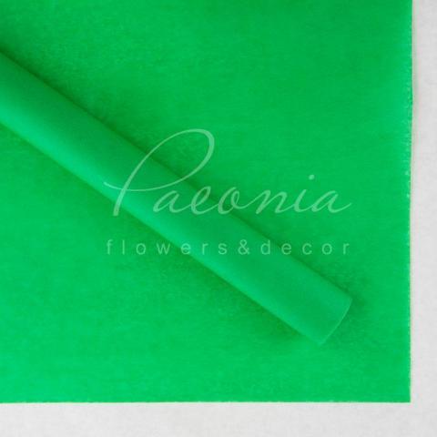 Папір Тішью 30см*43см тонкий зелений Польша 1 лист