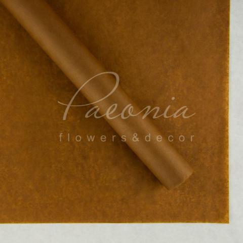 Папір Тішью в листах 50см*70см шоколад Польша 1 лист