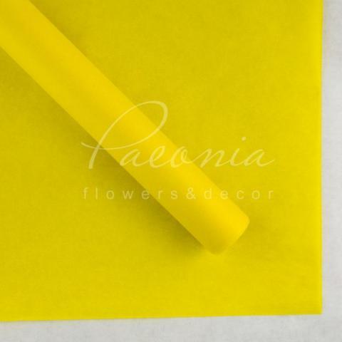 Бумага Тишью в листах 55см*60см горчичный 1 лист