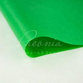 Бумага Тишью в листах 55см*60см зеленый 1 лист