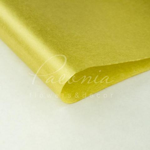 Папір Тішью в листах 55см*60см золото срібло 1 лист