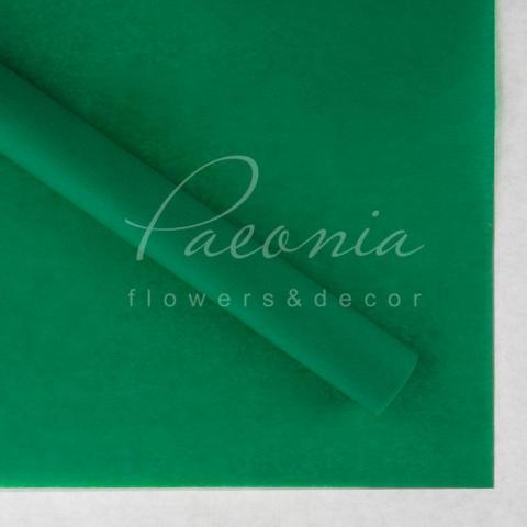 Папір Тішью в листах 55см*60см изумрудный 1 лист