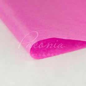 Папір пакувальний тіш'ю листовий малиновий 55см * 60см