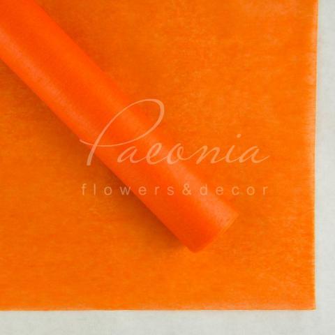 Папір Тішью в листах 55см*60см оранж 1 лист