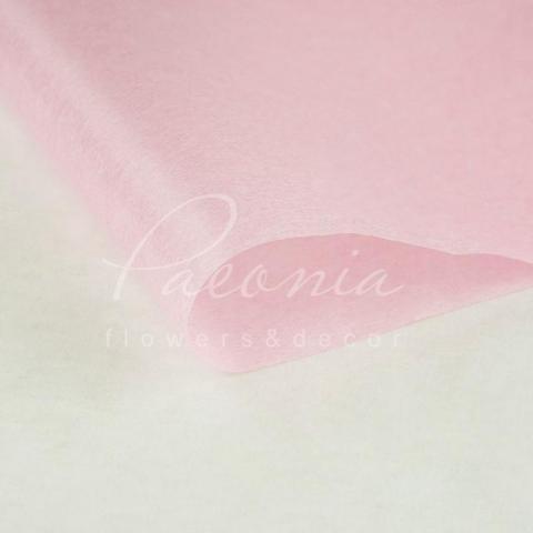 Папір Тішью в листах 55см*60см рожевий 1 лист