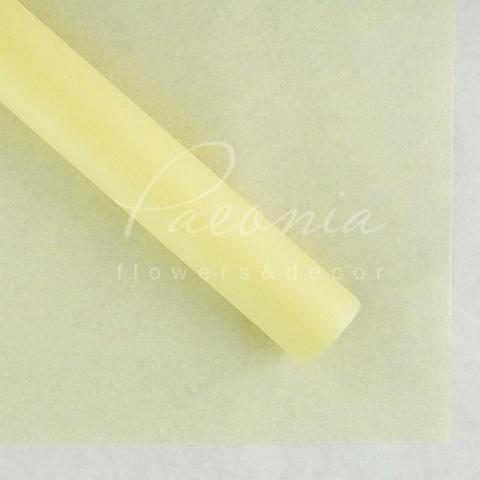 Папір Тішью в листах 55см*60см світло-жовтий1 лист