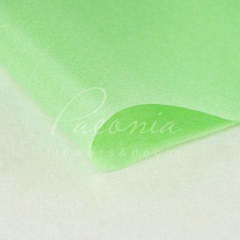 Бумага Тишью в листах 55см*60см светло-зеленый 1 лист