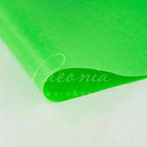 Папір Тішью в листах 55см*60см травяний 1 лист