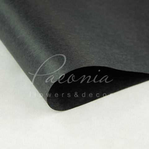 Бумага Тишью в листах 55см*60см черный 1 лист