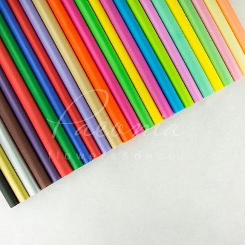 Папір Тішью в листах 55см*60см шоколадний 1 лист