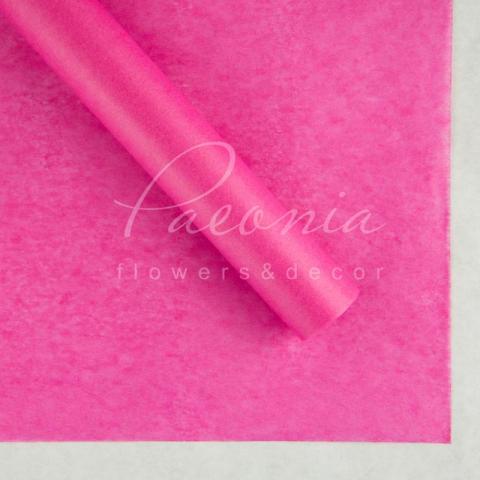 Папір Тішью в листах 55см*60см яскраво-малиновий 1 лист