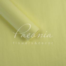 Папір пакувальний тіш'ю листовий світло-жовтий 55см * 70см