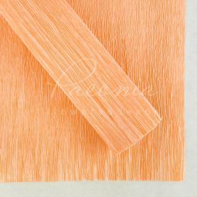 Папір пакувальний 50см*2,5м Креп абрикос