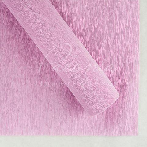 Папір пакувальний 50см*2,5м Креп ніжно- рожевий