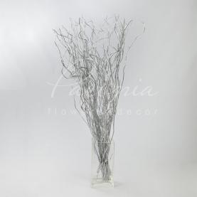 Саликс (ветки) крашеный серебро 140см