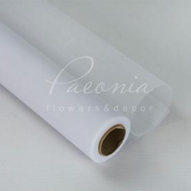 Сітка флористична гладка біла 50см * 9,1м