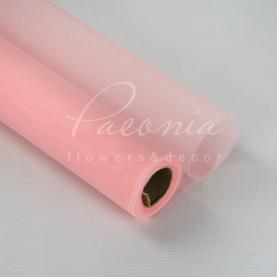 Сітка Флористична 50см*9,1м гладка ніжно-рожевий