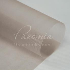 Сітка флористична гладка світло-коричнева 50см * 9,1м