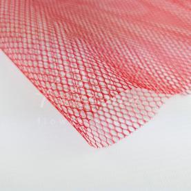 Сітка Флористична листова 50см*50см Деко-люкс червона