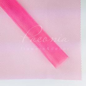 Сітка Флористична листова 50см*50см Деко-люкс рожева