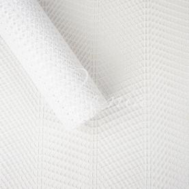 Сітка флористична стільники зигзаг біла 50см * 4,6м