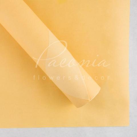 Папір пакувальний 70см*10м двосторонній рожевий пудра