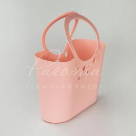 Сумочка LILY-MIX ITLI 400 з м'якого пластику рожева 40 * 18,5 * 23,1см