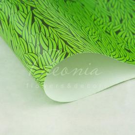 Папір для пакування подарунків листовий зелена трава 70см * 100см