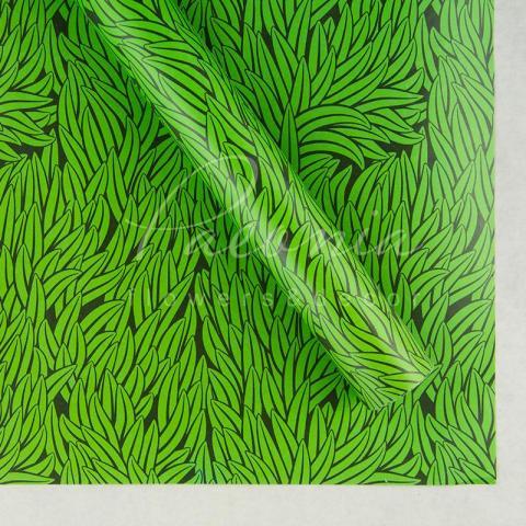 Папір пакувальний листовий 70см*100см зелена трава
