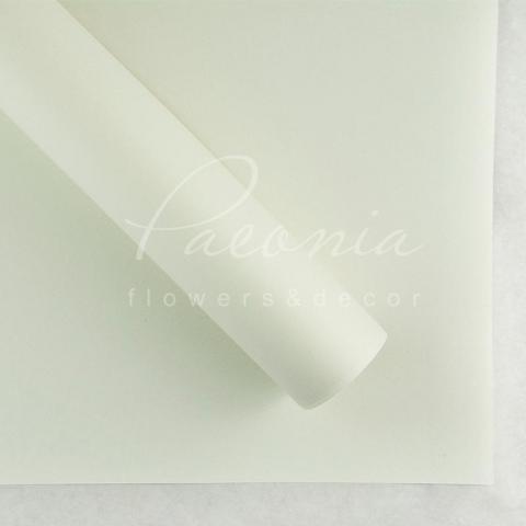 Папір Флористичний водостійкий листовий 54см*78см щільність 120г/м кв гладкий білий