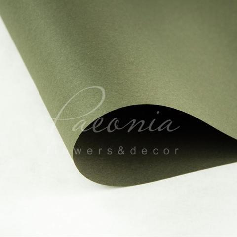 Папір Флористичний водостійкий листовий 54см*78см щільність 120г/м кв гладкий темно-коричневий