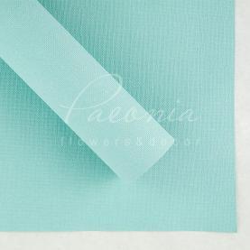 Папір для пакування квітів водостійкий щільний листовий мішковина блакитний 54см * 78см